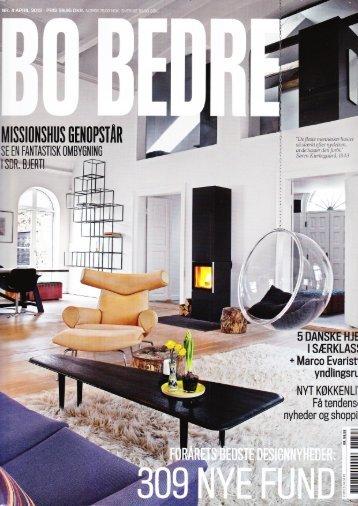 Bo Bedre, April 2013