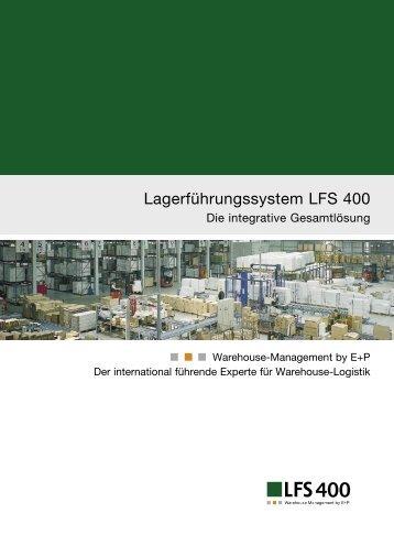 Lagerführungssystem LFS 400 - Ehrhardt + Partner
