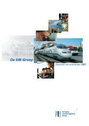 De EIB-Groep Overzicht van activiteiten 2001 - European Investment ...