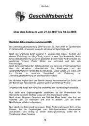 Geschäftsbericht - DJK Eintracht DIST e.V.