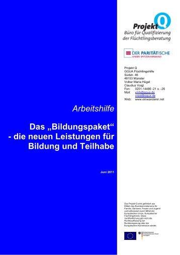 Antrag Bildung Und Teilhabe Rostock