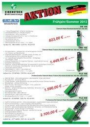 823,00 € 1.449,00 € 1.590,00 € 2.100,00 € - Eisen-Fischer GmbH