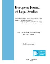 European Journal of Legal Studies