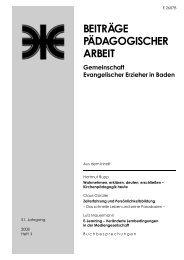 Heft 2008 / II - Evangelische Landeskirche in Baden