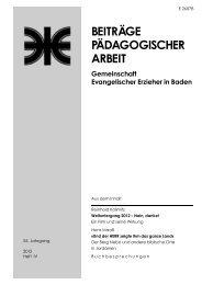 Heft 2012 / IV - Evangelische Landeskirche in Baden
