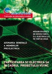 Adunarea generală a membrilor Pre Electrica - Electrica S.A.