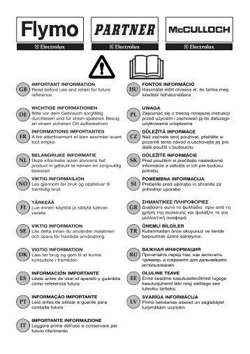 5119744-01 Safety Book - Electrolux-ui.com