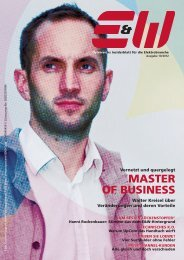 MASTER OF BUSINESS - E&W