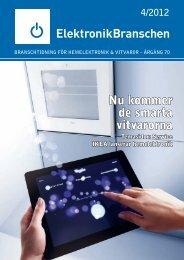 Nu kommer de smarta vitvarorna - Elektronikbranschen