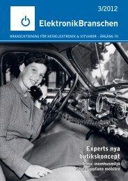 3/2012 Experts nya butikskoncept - Elektronikbranschen