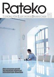 Omslag Rateko4-2009 Wacom.indd - Elektronikbranschen