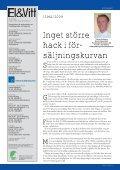 TIDNING FÖR eL- & vITvaRubRaNSCHeN - Elektronikbranschen - Page 5