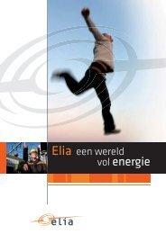 Brochure 'Elia, een wereld vol energie'