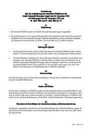 1/4 a Vereinbarung über die Eingliederung der ... - Stadt Ellwangen