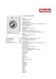 Tvättmaskin W 5965 WPS - Elon