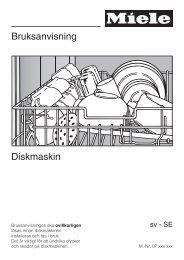 Bruksanvisning Diskmaskin - Elon