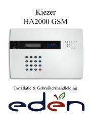 Kiezer HA2000 GSM - ELRO