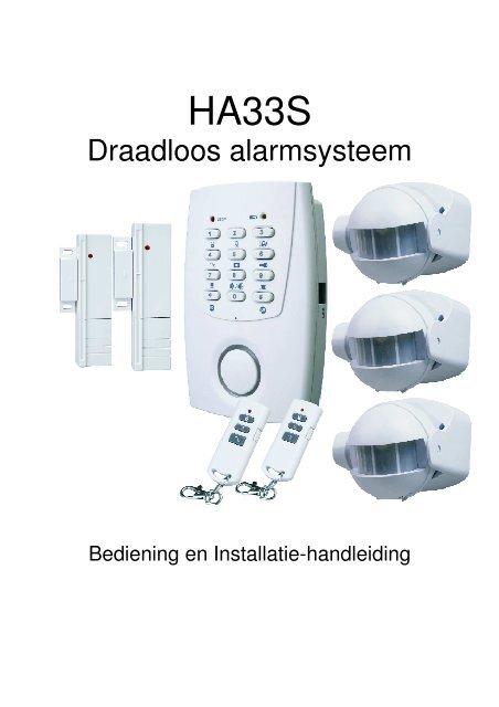 Draadloos alarmsysteem - ELRO