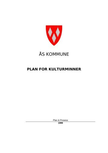 plan for kulturminner - Ås kommune