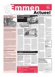 emmen actueel 13-12 - Gemeente Emmen