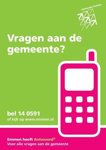 de brochure (pdf) - Gemeente Emmen