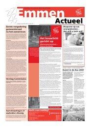 Emmen Actueel en Officieel week 39 - Gemeente Emmen