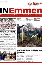 Nationale Boomfeestdag gevierd - Gemeente Emmen