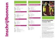 Activiteitenladder voorjaar 2012 - Gemeente Emmen