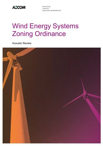 MA1583 Wind Energy Systems Zoning Ordinance - Emmet County
