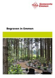 Begraven in Emmen - Gemeente Emmen