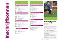 Activiteitenladder najaar 2012 - Gemeente Emmen