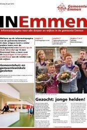 Gezocht: jonge helden! - Gemeente Emmen