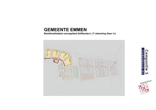 Beeldkwaliteitsplan van de Delftlanden - Gemeente Emmen