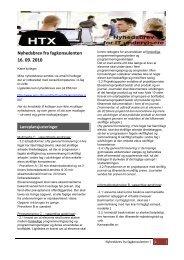 Htx-nyhedsbrev september 2010 - Emu