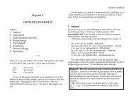 Kapitel 5 ORDENES INDHOLD - Emu
