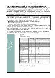 Om karaktergennemsnit og det nye eksamensbevis - Emu