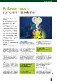 Frilaesning.dk stimulerer læselysten - Emu