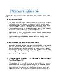Referat af møde i fagligt forum, samtidshistorie, 8. maj 2013 ... - Emu