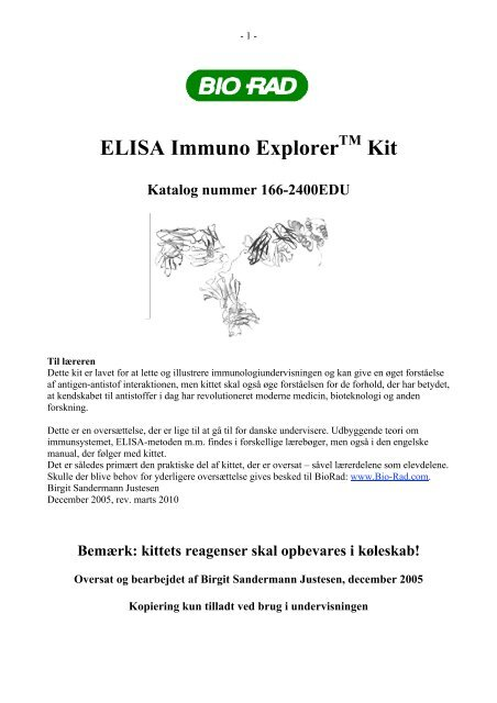 ELISA Immuno Explorer Kit - Emu