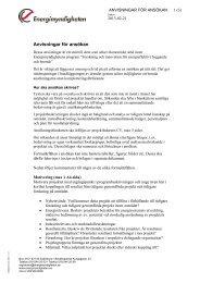 Anvisningar för ansökan - Energimyndigheten