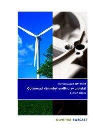 LR Optimerad värmebehandlinga av gjutstål.pdf - Energimyndigheten