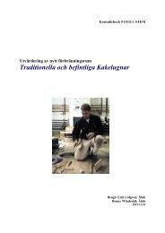 Traditionella och befintliga Kakelugnar - Energimyndigheten