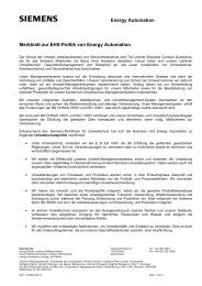 extern: Geschäftsbrief - Siemens Energy