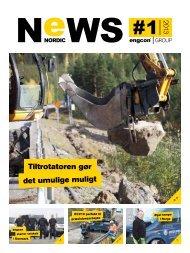 Nordic NeWS #1 2013 - engcon