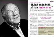 CV Willem van Kooten - Entertainment Business