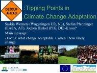 Alterra, Saskia Werners (PDF, 1.7MB) - Environment Agency