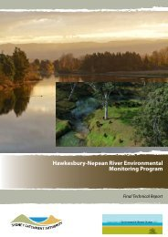 Hawkesbury-Nepean River Environmental Monitoring Program
