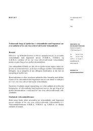 svar omfattet af lov om visse erhvervsdrivende virksomheder Re