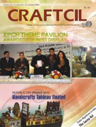 2 CRAFTCIL • January 2012 - Export Promotion Council for ...