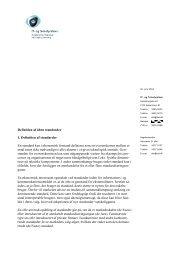 Definition af åbne standarder 1. Definition af ... - ePractice.eu